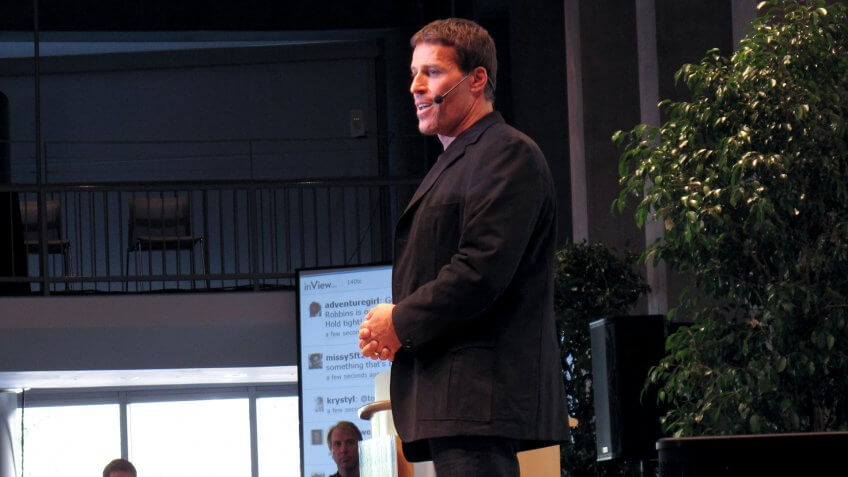 Tony Robbins' Early Childhood
