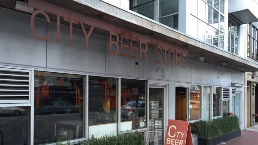 City Beer Store in San Francisco California