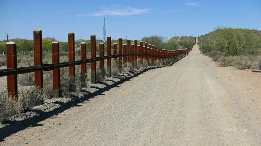 5. Construction will soon begin on the Mexican border wall.