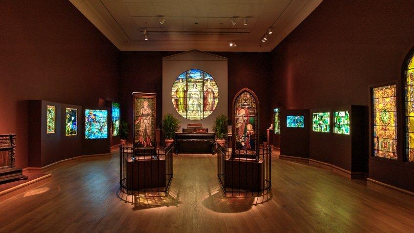 The Charles Hosmer Morse Museum of American Art Orlando