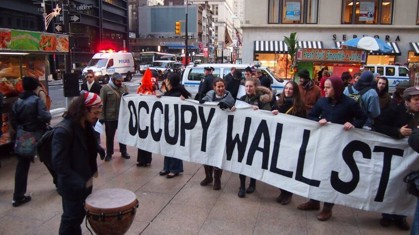 Occupy Wall Street: Expensive and Popular But Largely Ineffective