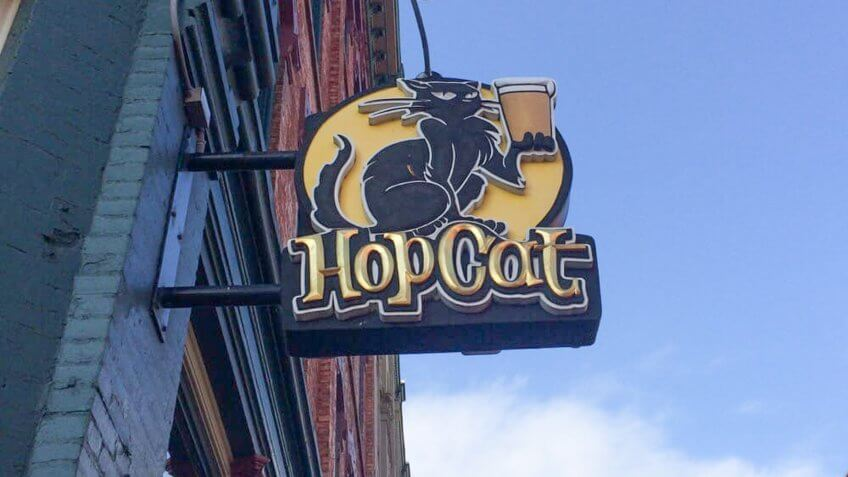 hopcat at grand rapids in Michigan