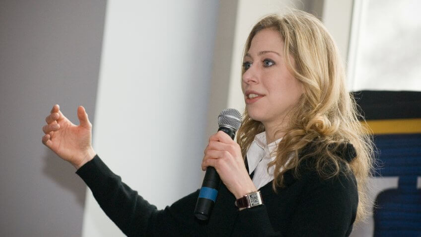 Richest Kid: Chelsea Clinton