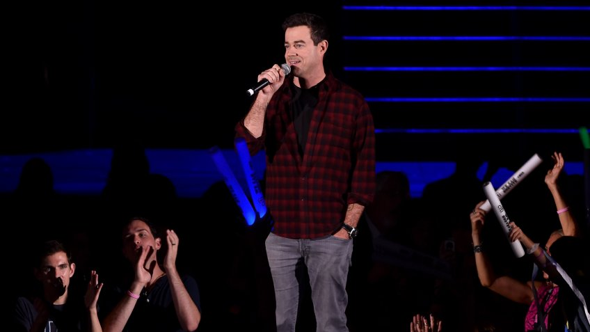 LOS ANGELES, CA - OCTOBER 24:  TV personality Carson Daly is seen during CBS Radio's We Can Survive at the Hollywood Bowl on October 24, 2014 in Los Angeles, California.