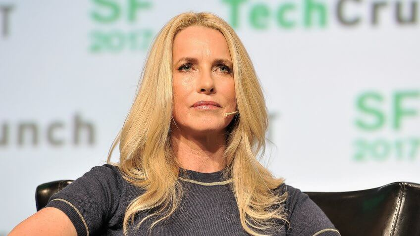 SAN FRANCISCO, CA - SEPTEMBER 20:  Emerson Collective Founder and President Laurene Powell Jobs speaks onstage during TechCrunch Disrupt SF 2017 at Pier 48 on September 20, 2017 in San Francisco, California.
