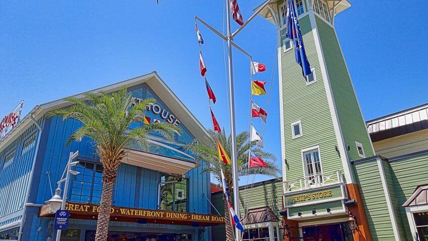 Orlando Florida Disney Springs
