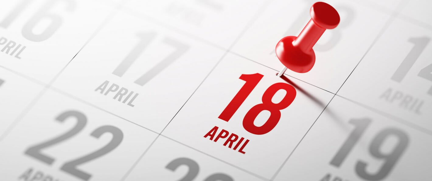 Here's Why Tax Day Is April 18 This Year