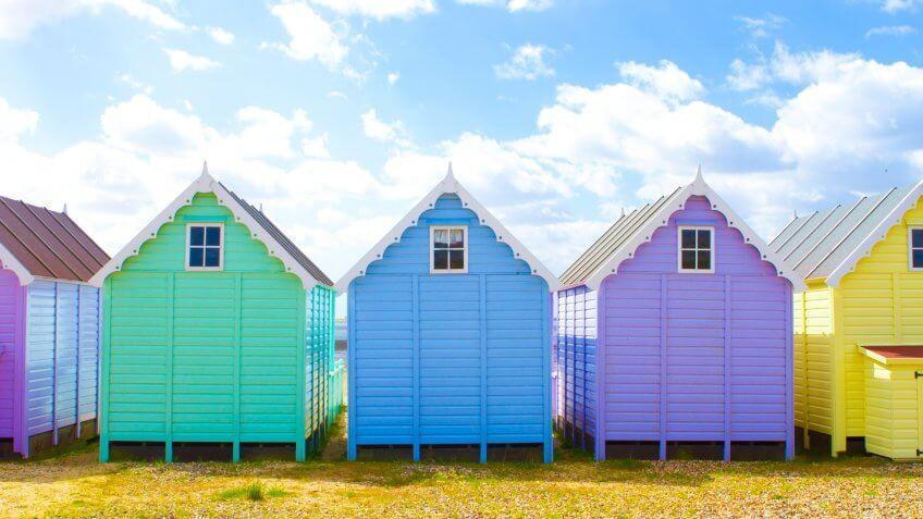 Brighton Beach, UK, United Kingdom, beach towns