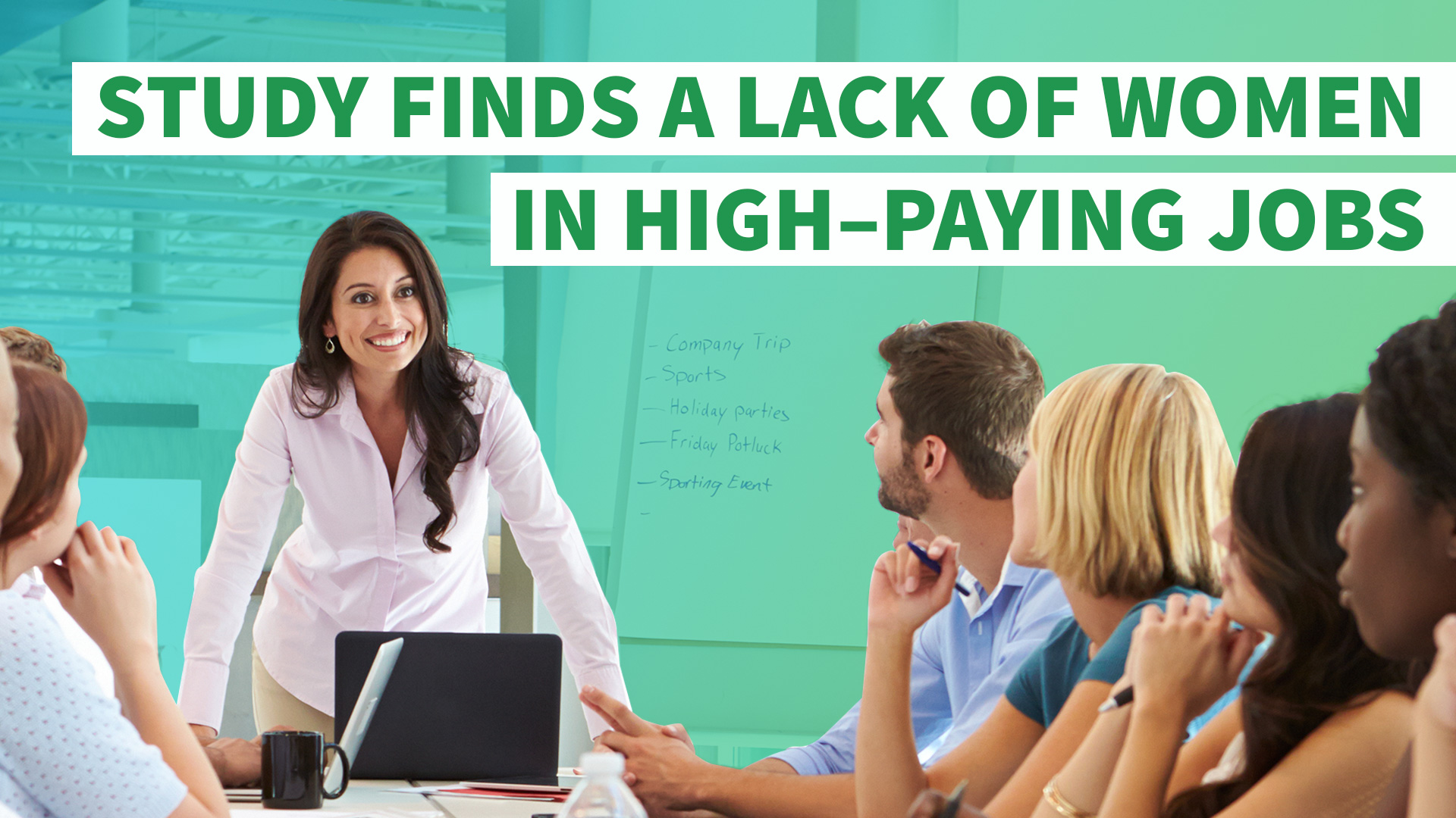 Making Progress? Study Finds Lack of Women in High-Paying Jobs ...
