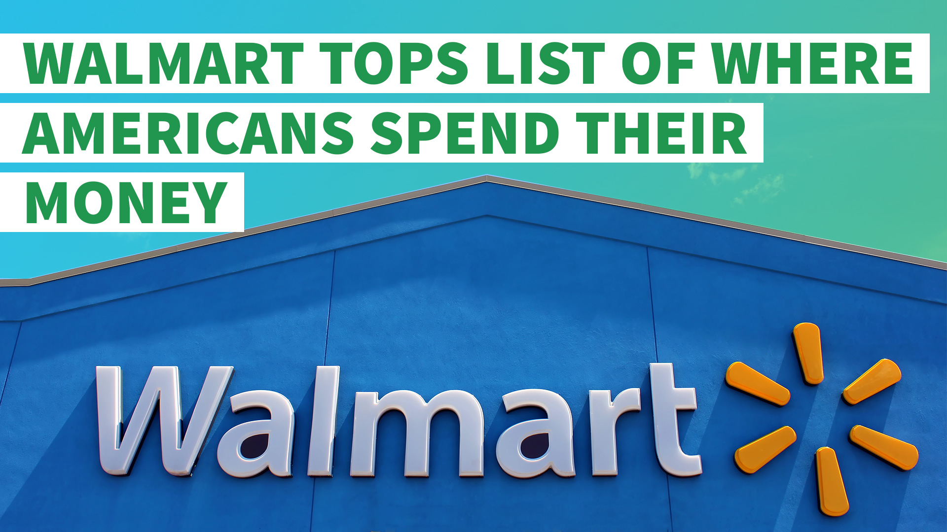 Study Finds Americans Spend Big at Walmart and Other Bargain Retailers