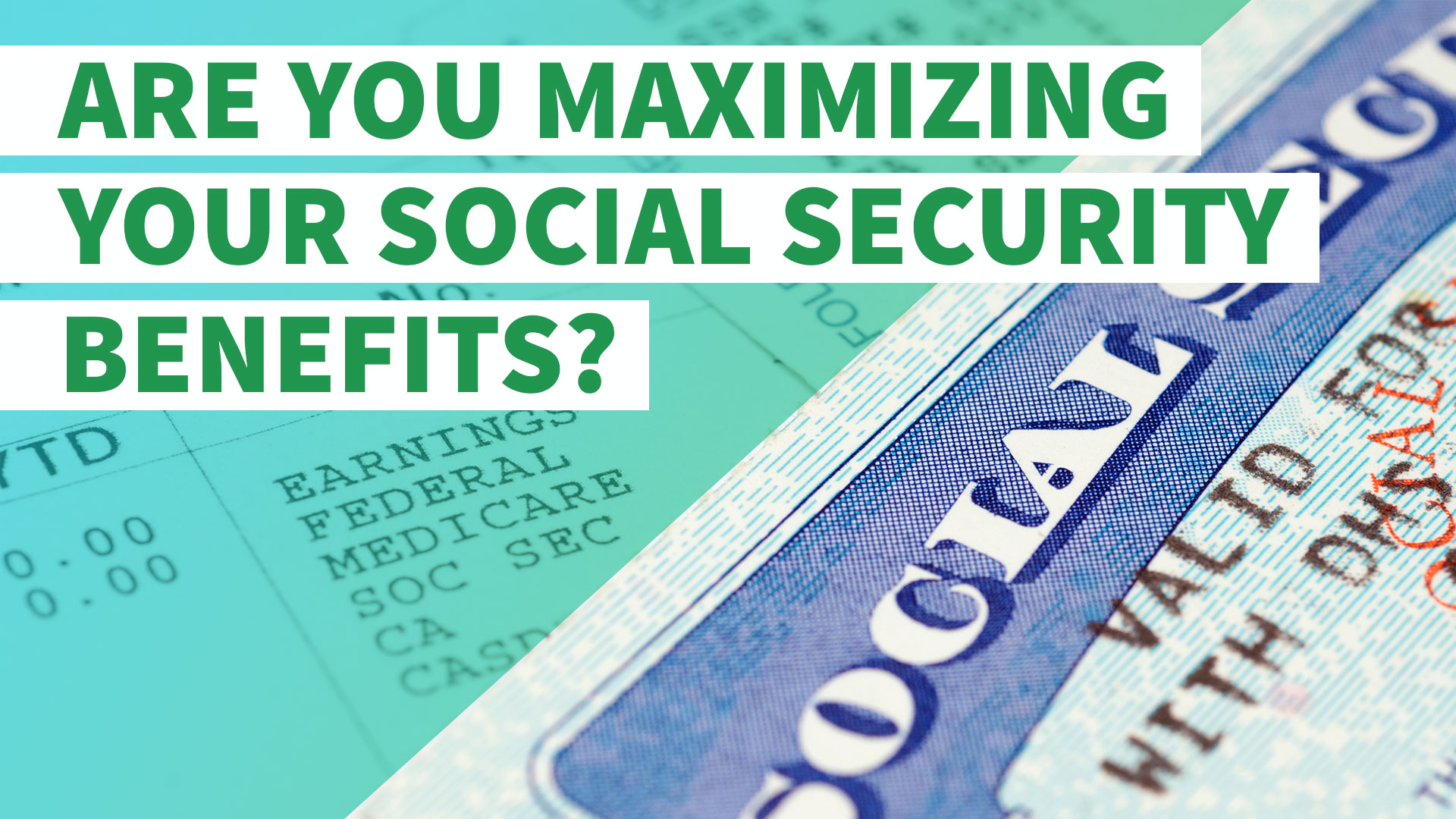 4 ways to replace your lost social security card gobankingrates find out if youre maximizing your social security benefits aiddatafo Choice Image