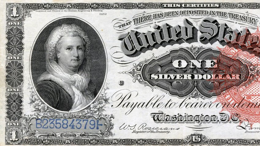 Martha Washington was once on the bill