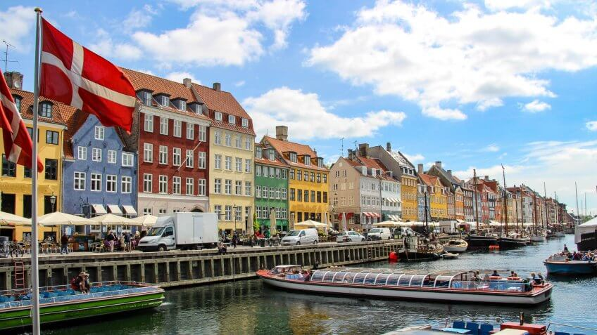 Select US Cities to Copenhagen, Denmark