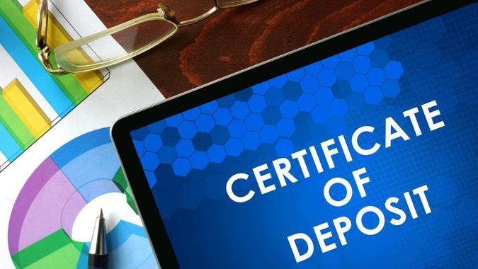 certifcate of deposit