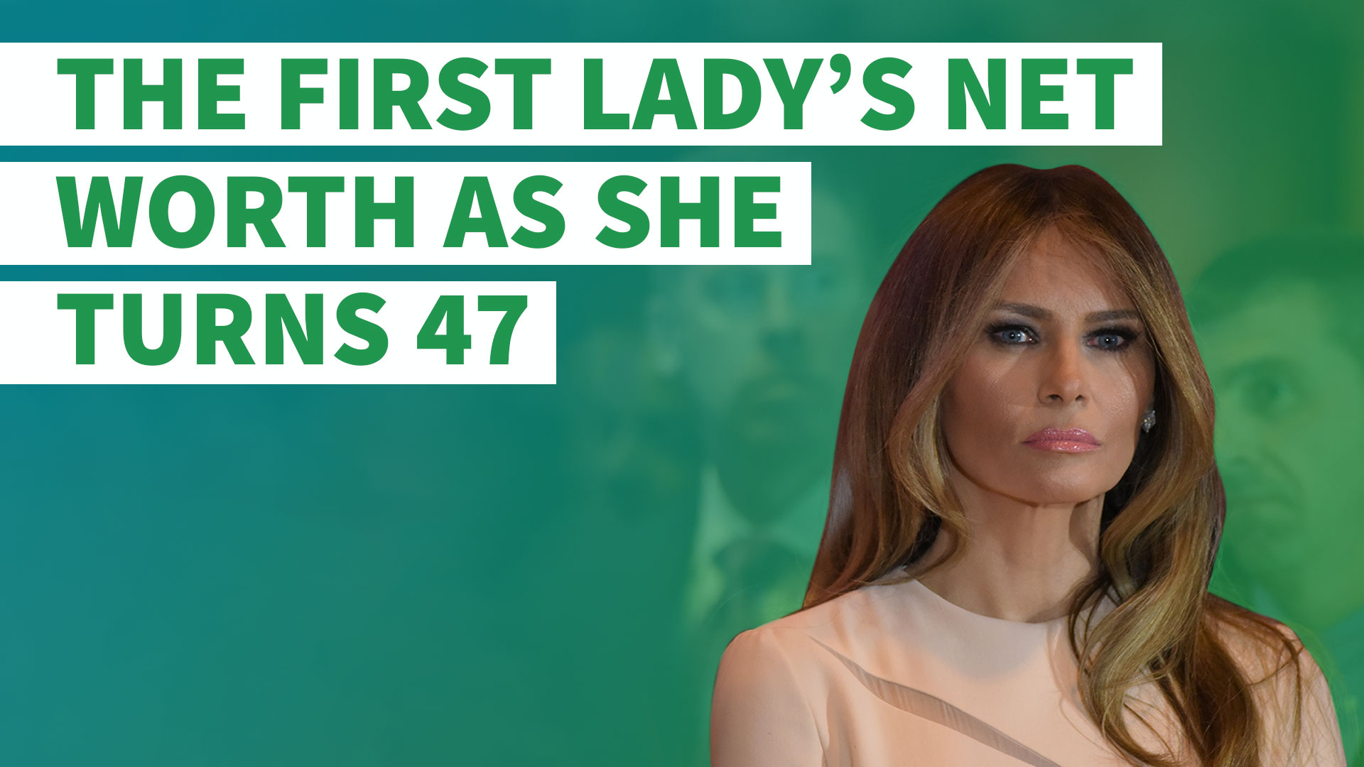 Credit Report Companies >> Happy Birthday Melania Trump: The First Lady's Net Worth as She Turns 48 | GOBankingRates