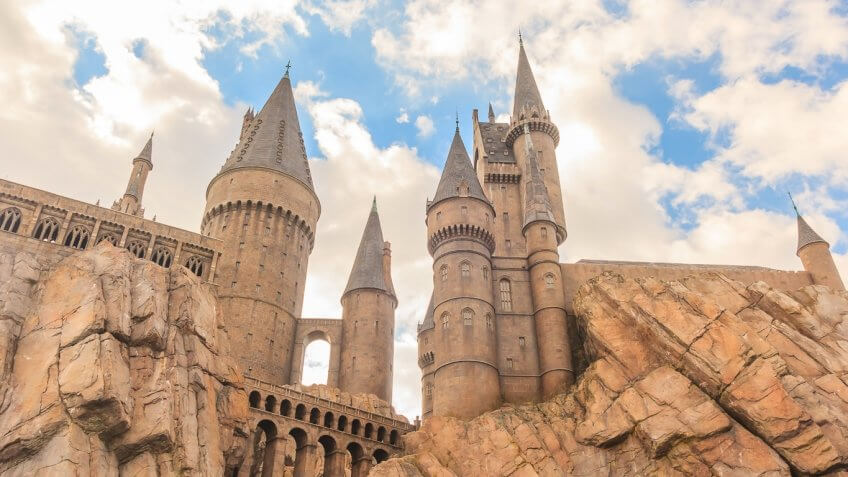 The Wizarding World of Harry Potter in Orlando, Florida