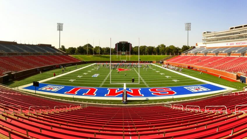 SMU Football Receives 'Death Penalty'
