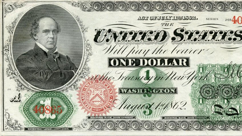 The first dollar didn't feature George Washington