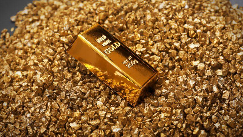 Nevada: Unwrought Nonmonetary Gold