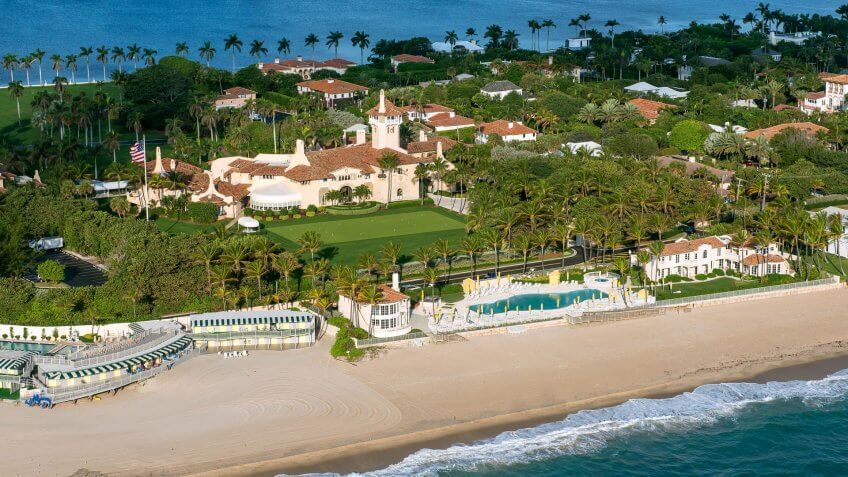 31 Days Spent at Trump Golf Courses and Properties