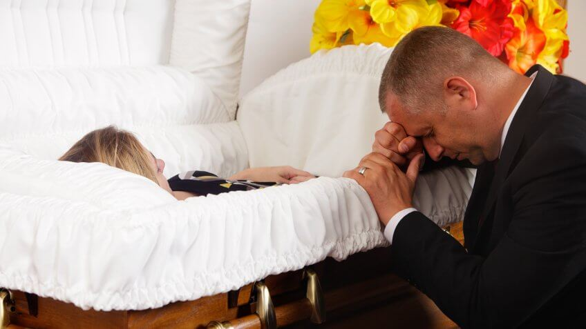 Place Coins on a Loved One's Eyelids When Laying Them to Rest