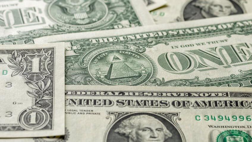 US dollar bills
