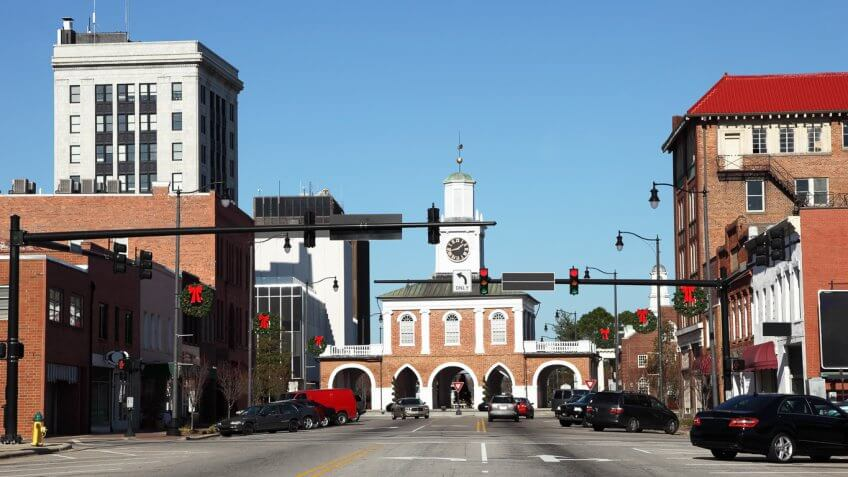 North Carolina: Fayetteville