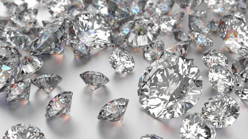 New York: Nonindustrial Worked Diamonds