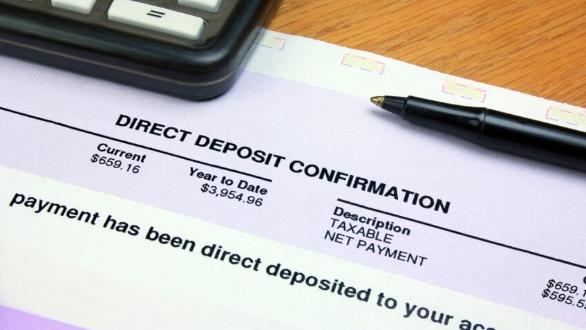 Set Up Direct Deposits Into Your Savings