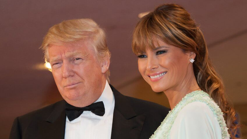 Melania Trump's Hair and Makeup