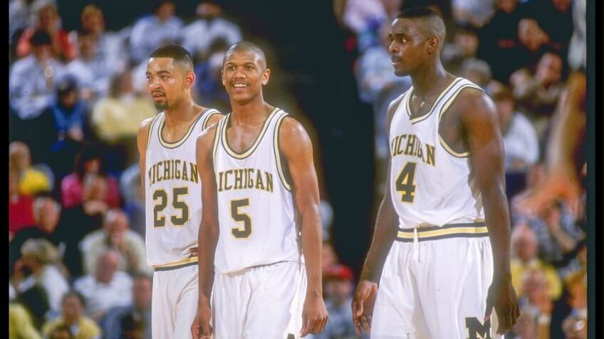 Michigan Basketball 'Fab Five' Scandal