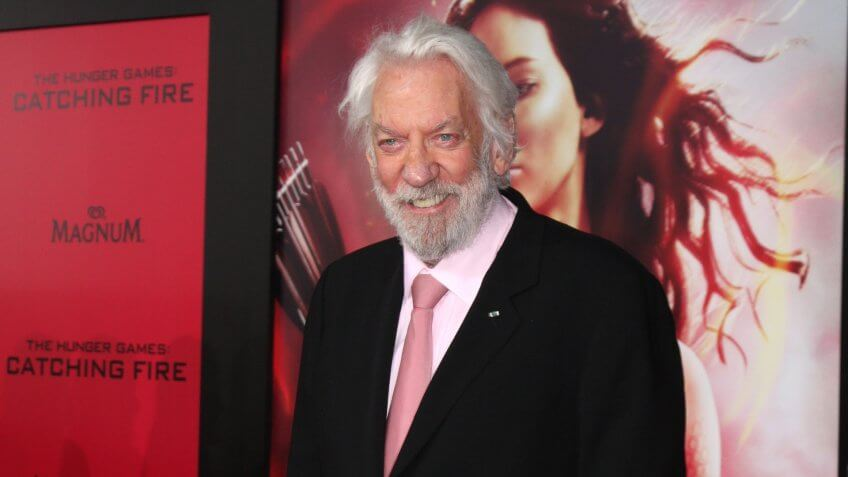 Blackjack With Jesus: Donald Sutherland