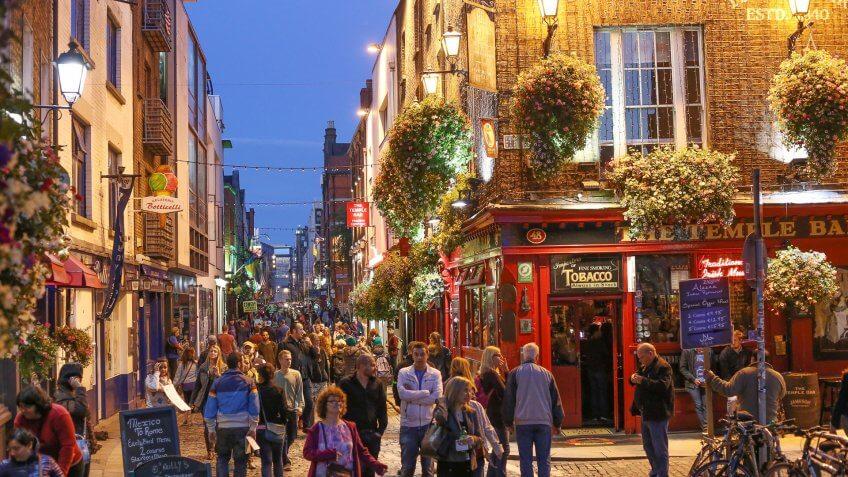 Providence to Dublin, Ireland
