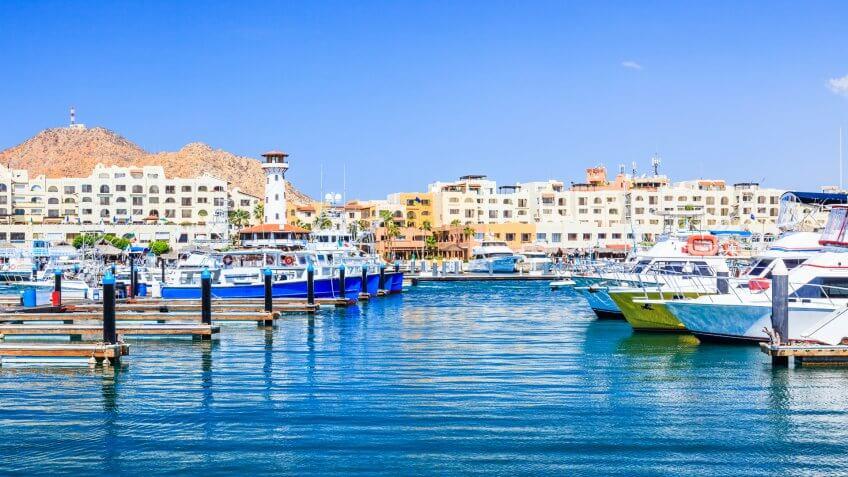 Cabo San Lucas, Mexico, beach towns