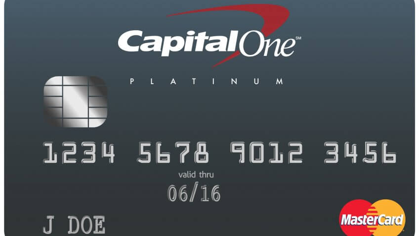 2. Capital One Platinum Credit Card