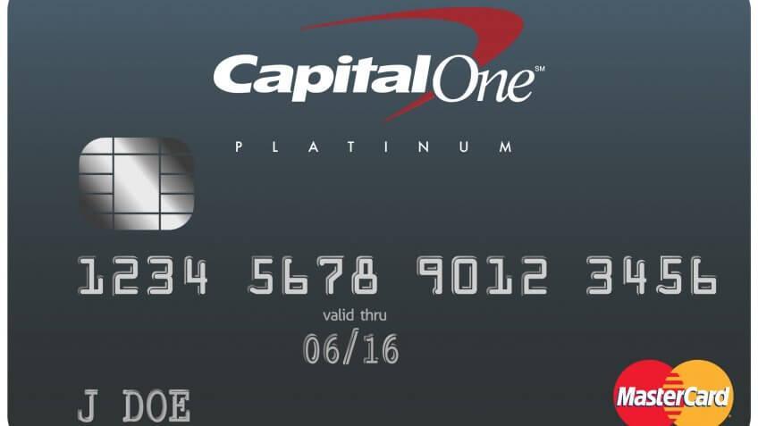 2. Capital One Platinum Credit Card