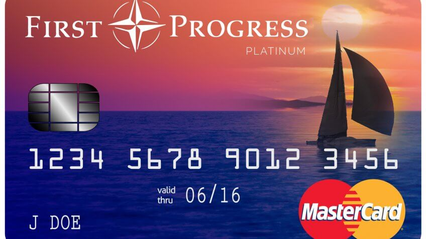 4. First Progress Platinum Elite MasterCard Secured Card