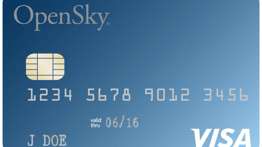 5. OpenSky Secured Visa Credit Card