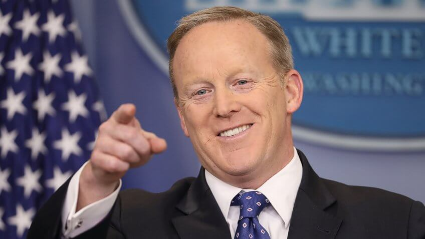 Sean Spicer Resigns as Press Secretary, Here's How Much He Could Make Elsewhere