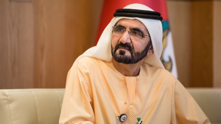 Mohammed bin Rashid Al Maktoum Net Worth: $14 Billion