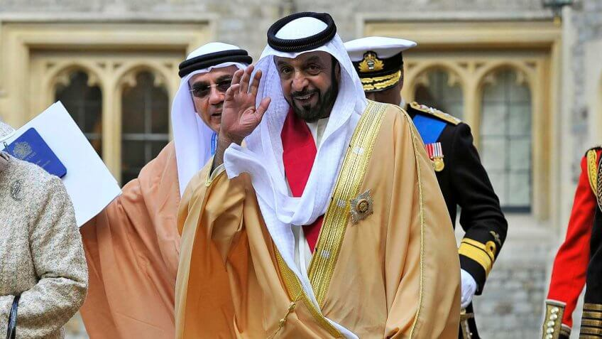 Khalifa bin Zayed Al Nahyan Net Worth: $18 Billion