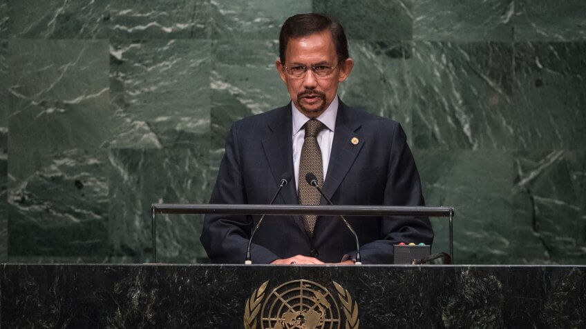Hassanal Bolkiah Net Worth: $20 Billion