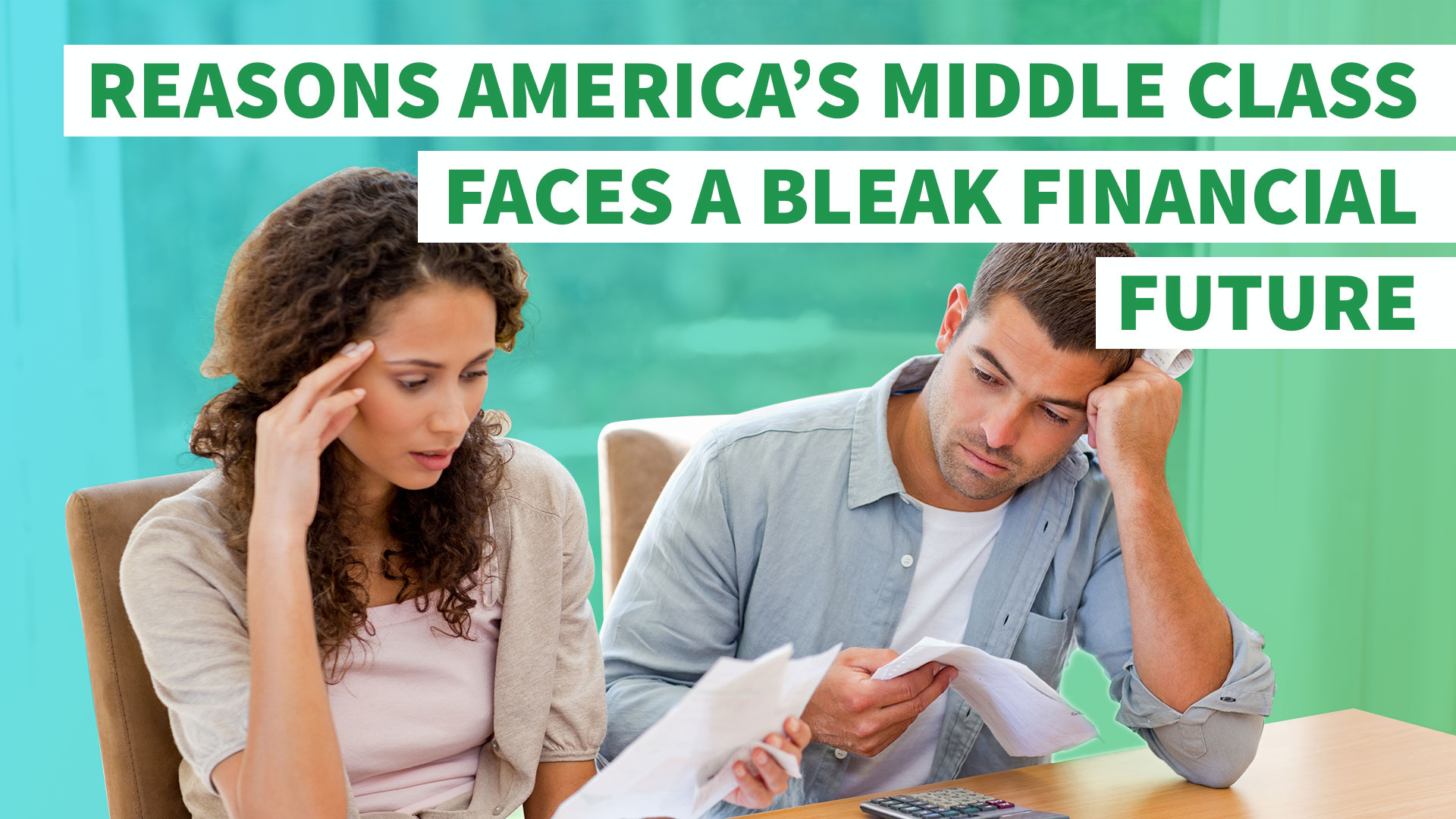the worrisome future for the middle class It's no secret that america's middle class is in decline there's a dark future for america coming if we let the middle get alternet's daily newsletter in.