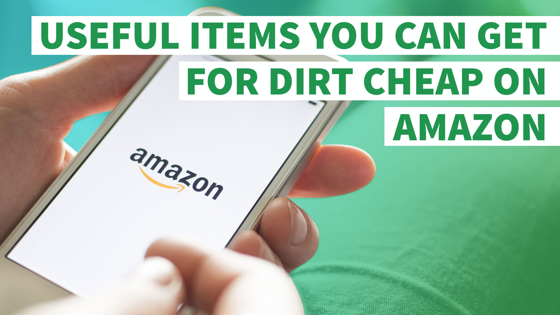 11 Useful Items You Can Get For Dirt Cheap On Amazon