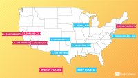 The 15 Best and Worst Places to Live If You're Trying to Save Money