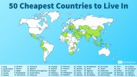50 Cheapest Countries to Live In