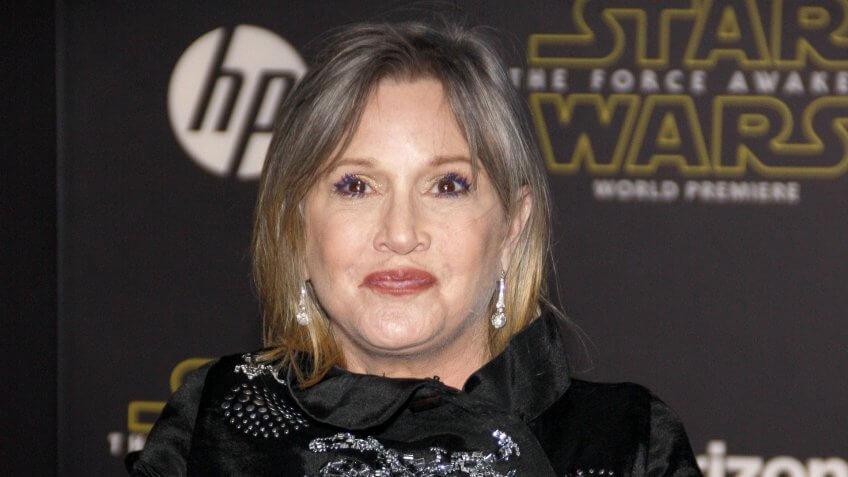 Carrie Fisher Net Worth: $25 Million