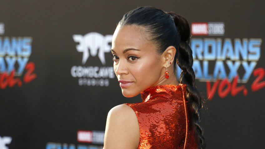 Zoe Saldana Net Worth: $20 million