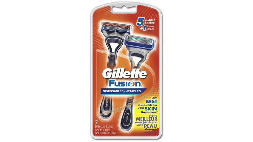 Gillette Fusion Disposable Razors