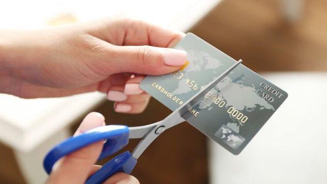 credit card cut up